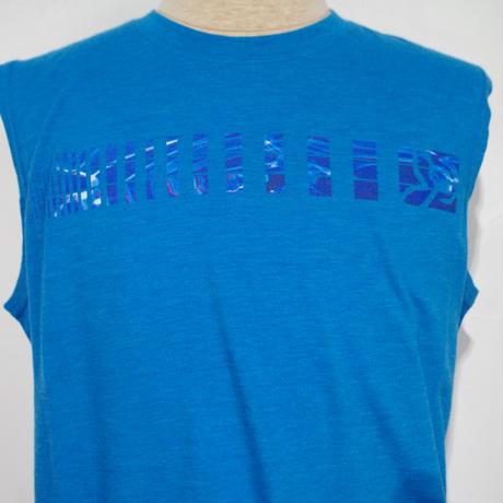 PRANA Aquarius  Sleeve Less T-Shirt Danube Blue