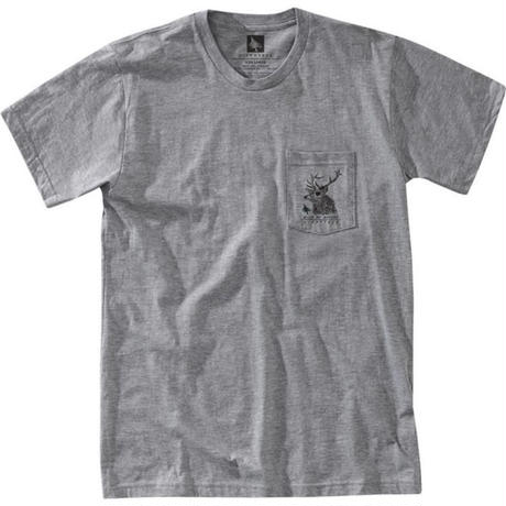 HIPPY TREE BUCK TEE Heather Grey
