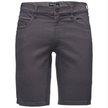 BLACK DIAMOND STRETCH FONT  SHORTS MENS Anthracite