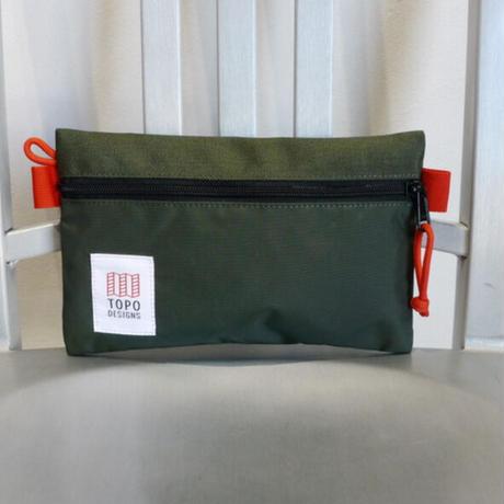 TOPO DESIGNS ACCESSORY BAG-S  Nylon Olive