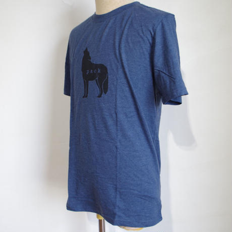PRANA Wolf Pack Journeyman T-shirt Denim Heather