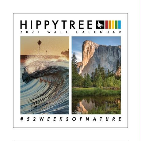 HIPPY TREE 2021 WALL CALENDAR