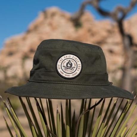 HIPPY TREE VENTURA HAT Army