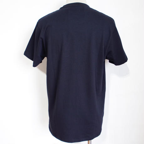 BACK DAIAMOND POCKET LABEL TEE