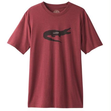 PRANA Later Gator Journeyman T-Shirt Rusted Roof Heather