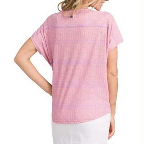 PRANA Womens Epley Top Maui Mist Nani
