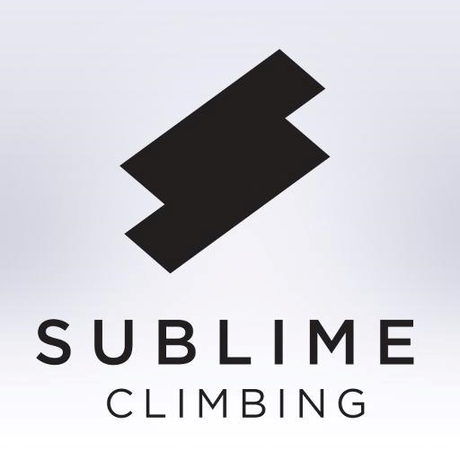 SUBLIME CLIMBING Slimline Climbing Brush BLACK