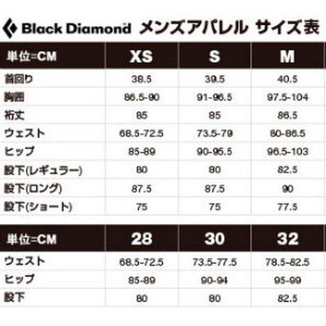 BLACK DIAMOND CHALKED UP FULL ZIP HOODY Black