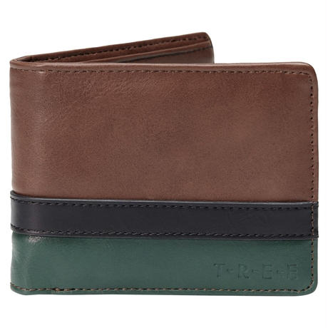 HIPPY TREE LAKE WOOD WALLET GREEN