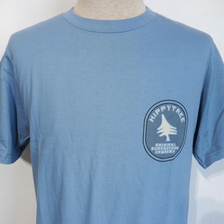 HIPPY TREE GEOLOGY TEE Blue
