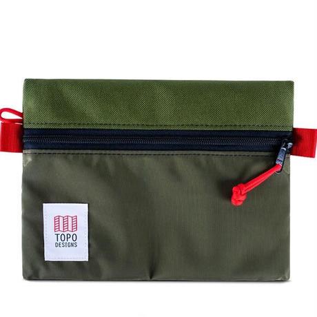 TOPO DESIGNS ACCESSORY BAG-M  Nylon Olive