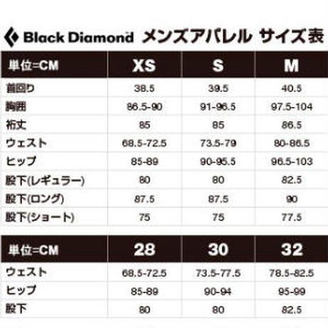 BLACK DIAMOND CRAG DENIM PANTS MENS Chalk