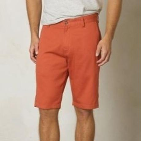 PRANA Table Rock Chino Short Red Cley