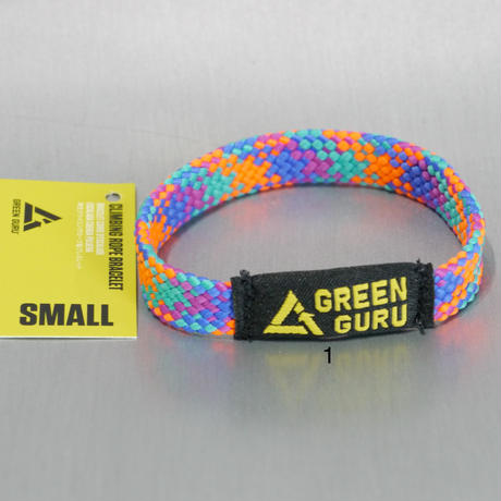 GREEN GURU CLIMBING ROPE RECYCLING BRACELET Small