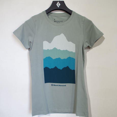 BLACK DIAMOND VIST TEE WOMENS Atmosphere