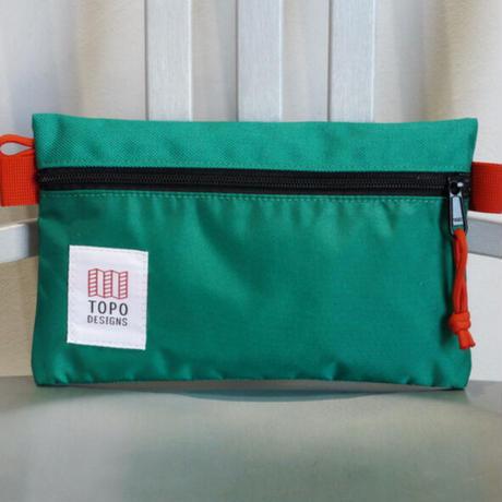TOPO DESIGNS ACCESSORY BAG-S  Nylon Green