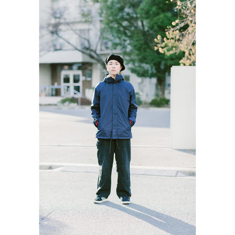 "SANTOWN  ""ODYSEEY"" Coach Jacket - Navy -"