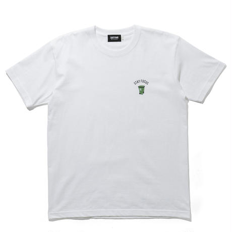 SANTOWN Trash Box S/S Tee - White