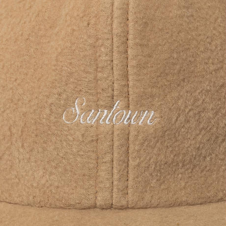 SANTOWN Fleece 6 Panel Cap - Beige