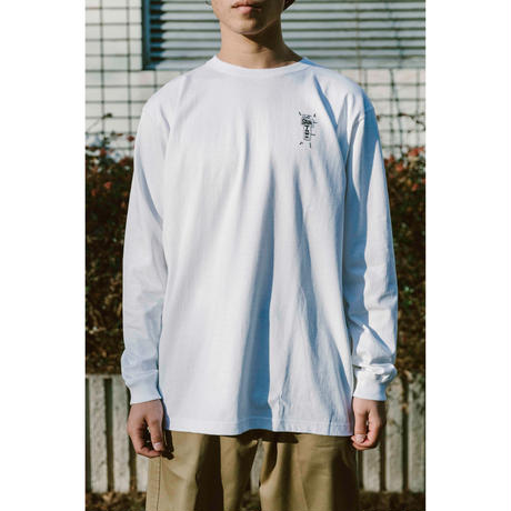 SANTOWN Welcome Sign L/S Tee - White