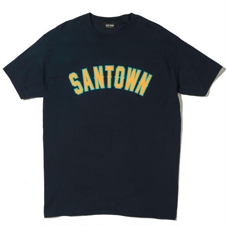 SANTOWN College S/S Tee - Navy