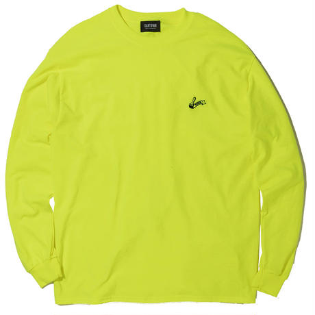 SANTOWN Painter Logo L/S Tee - Yellow