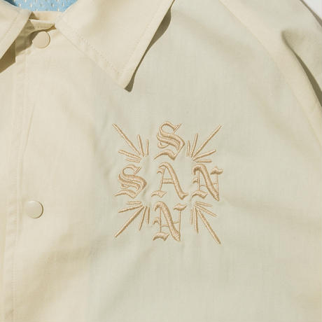 SANTOWN Spring Coach Jacket - White