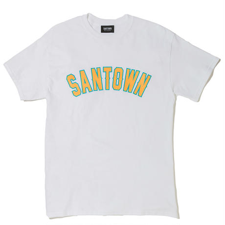 SANTOWN College S/S Tee - White