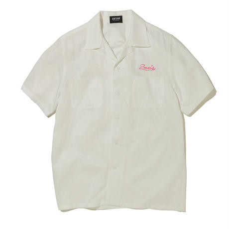 SANTOWN S/S Rayon SHIRTS - White