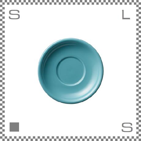 ORIGAMI オリガミ ラテボウル用ソーサー ターコイズ 6ozラテボウル/8ozラテボウル兼用ソーサー Φ140mm 日本製