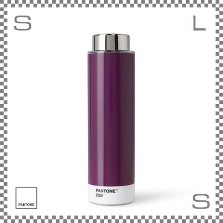 PANTONE パントン ドリンクボトル トライタン ヴァイオレット 500ml Φ62/H220mm ステンレスボトル 魔法瓶