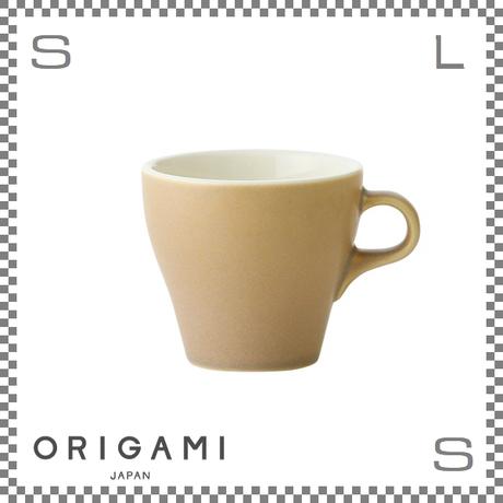 ORIGAMI オリガミ ラテカップ マットベージュ 8oz Φ90/W112/H81mm 250cc コーヒーカップ バリスタが設計 日本製