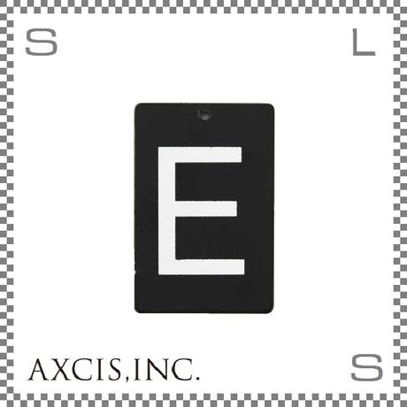 """AXCIS アクシス アイアンプレート """"E"""" W40/D2/H60mm アルファベットプレート スチール製 アイアンネームプレートホルダー用 hs2562"""