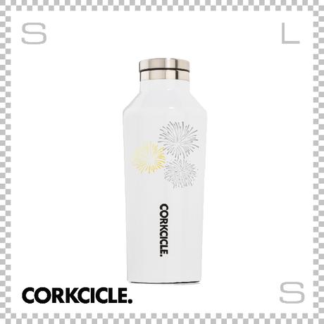 CORKCICLE コークシクル ハナビ キャンティーン ホワイト 9oz 2009GW-HANABI ステンレス製 マグボトル 携帯ボトル