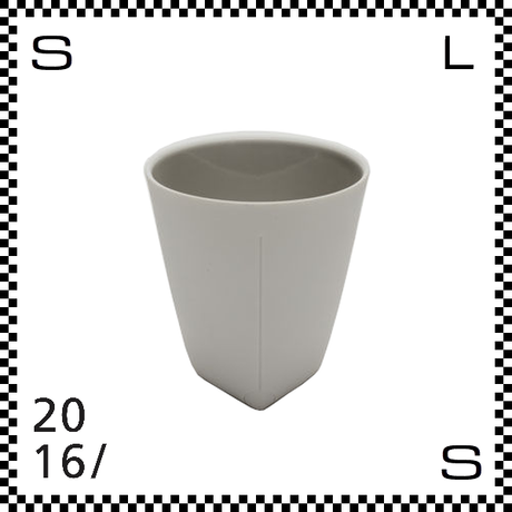 2016/ Christian Haas クリスチャン ハース コーヒーカップ グレー Φ85/H85mm 湯呑み タンブラー 有田焼 日本製 ch-005