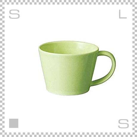 SAKUZAN サクザン SARA サラ コーヒーカップ ライトグリーン 190cc パステルカラー 日本製