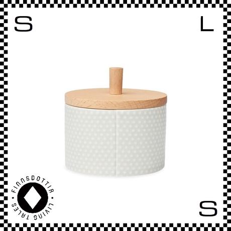 dottir ドティエ pipanella ピパネラ ジャー グレー W9/H7.5cm キャニスター 陶器製 デンマーク製