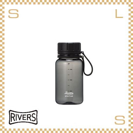 RIVERS リバーズ スタウトエア 400 ブラック 400ml W100/D71/H157mm ウォーターボトル スプラッシュガード付 トライタン使用