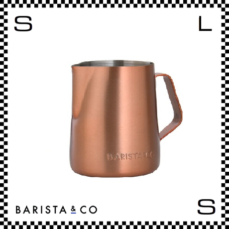 BARISTA&CO バリスタアンドコー ミルクジャグ コパー カパー 350ml W10/D9.1/H13cm フォームミルクマグ