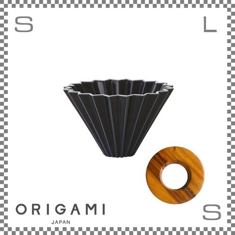 ORIGAMI オリガミ ドリッパーセット ドリッパー Sサイズ ネイビー 1~2杯用&専用ドリッパーホルダー