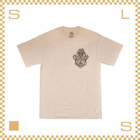 RIVERS リバーズ クラウン Tシャツ ベージュ サイズS~LL