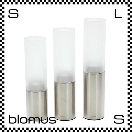 blomus ブロムス FARO ティーライトホルダー 3サイズセット シルバー マット加工 blomus-65055