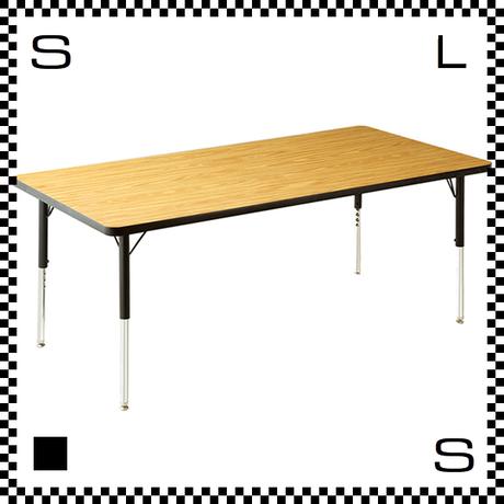 ヴァルコ テーブル Lサイズ オーク 1523×760mm VIRCO社 高さ調節可能 ユニバーサルデザイン 店舗・業務用 TR-4228-OK