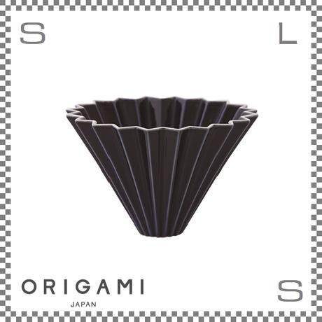 ORIGAMI オリガミ ドリッパー Mサイズ ネイビー 2~4杯用 磁器製 ブリューワー 日本製