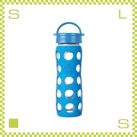 LIFEFACTORY ライフファクトリー グラスボトル クラシックキャップ 475 オーシャン 475ml 携帯ボトル ガラスボトル