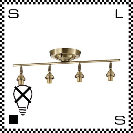 アートワークスタジオ 4灯シーリング リモートモデル ゴールド リモコン付 電球別売 W825/H134mm E26 シーリングベース AW-0430-GD (※)