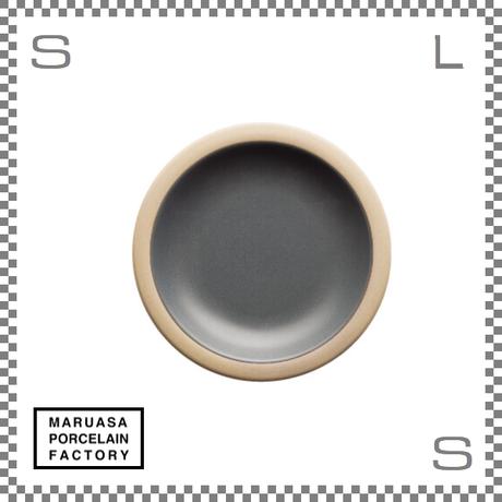 丸朝製陶所 %PORCELAINS ポーセリンズ プレート Sサイズ マットグレー Φ171/H25mm 日本製