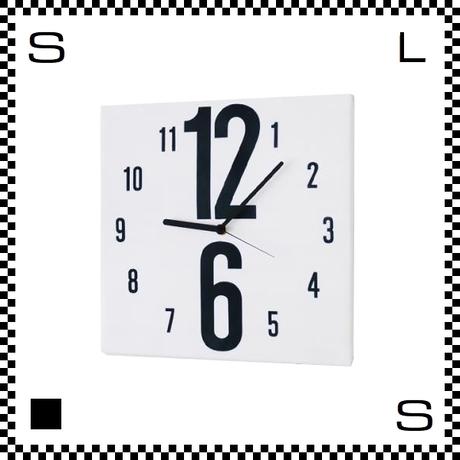 126 ファブリック モダン W30/D2/H30cm クロス張り ウォールクロック 壁掛け時計 スイープクオーツ使用 日本製