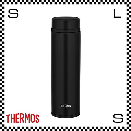 THERMOS サーモス 真空断熱ケータイマグ 480ml マットブラック Φ6.5/H21cm