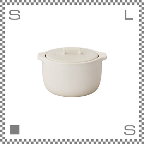 KINTO キントー KAKOMI カコミ 炊飯土鍋 2合用 ホワイト 直火/電子レンジ可 ご飯鍋